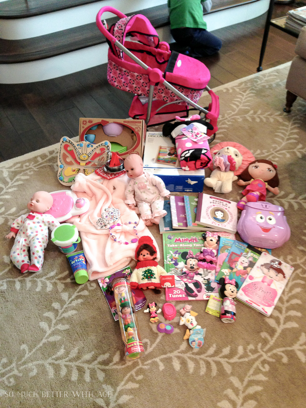 Take a Photo of your Gifts / dolls and strollers - So Much Better With Age
