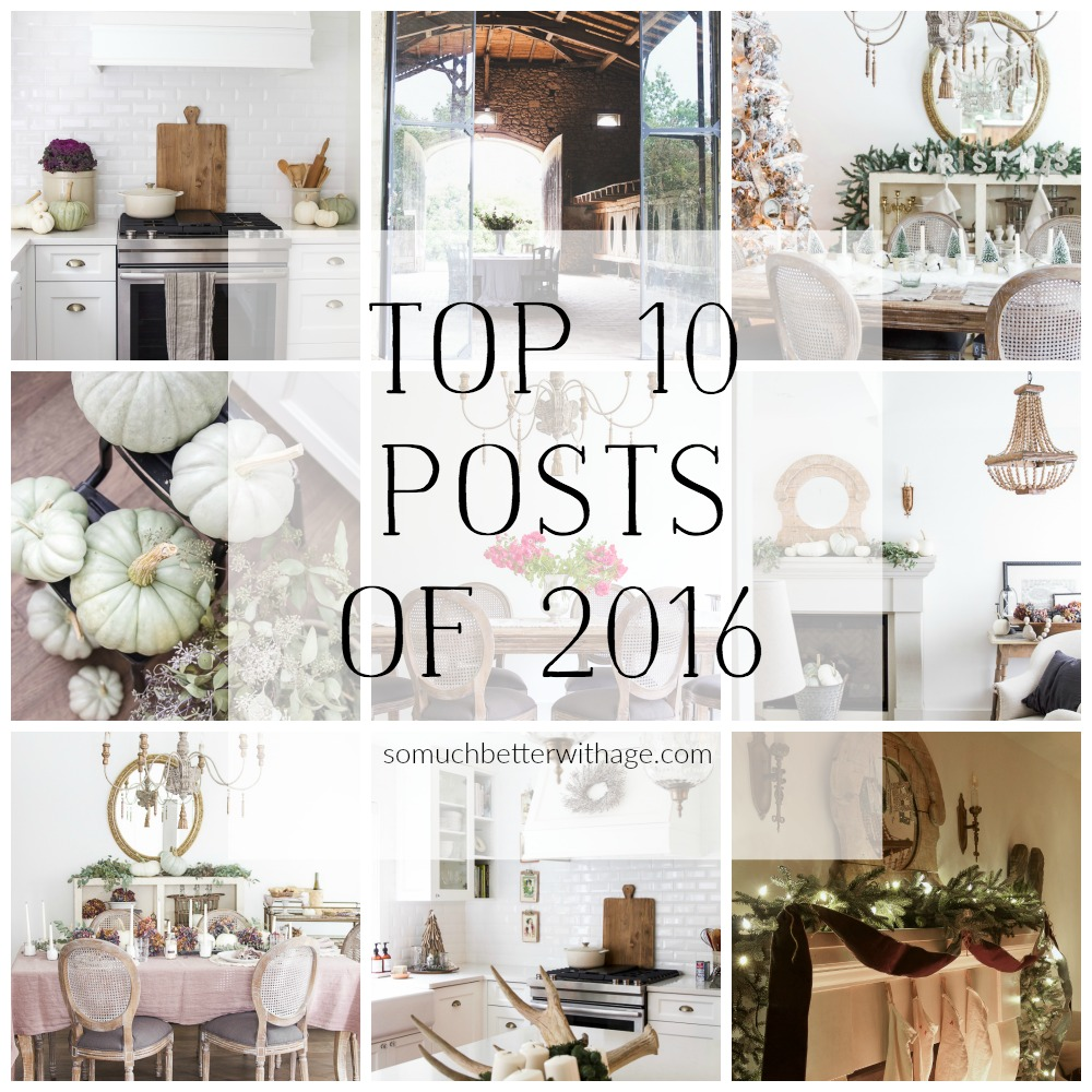 Top 10 Posts of 2016 So Much Better With Age
