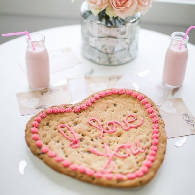 Valentine's Day Big Heart Cookie Recipe