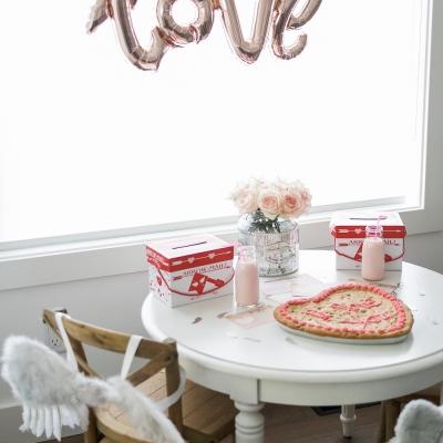 Valentine's Day Kids' Table