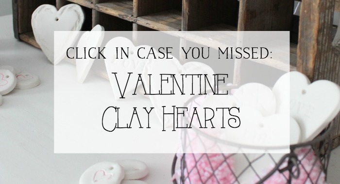 Valentine Clay Hearts