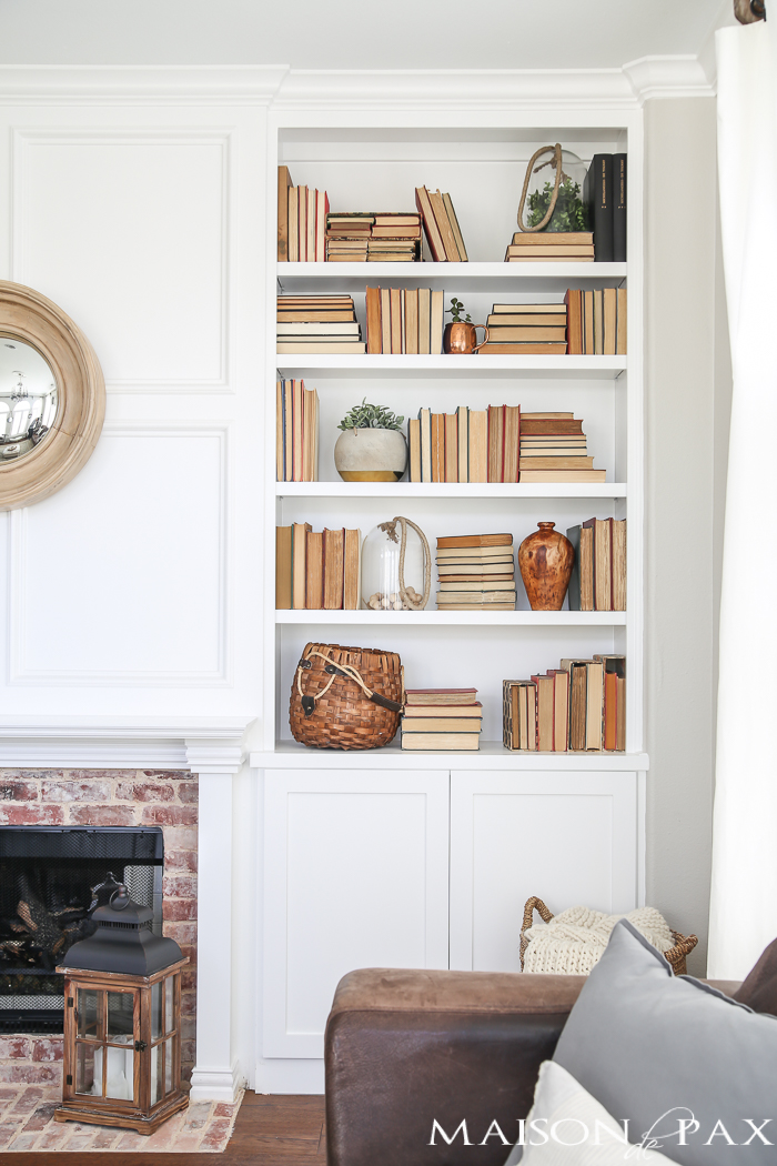 Maison de Pax - 10 Tips for Styling Bookshelves
