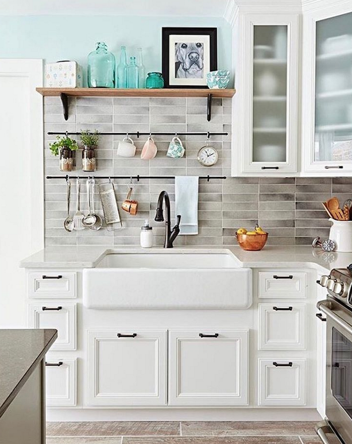 Shabbyfufu - How to Update Your Kitchen on a Budget