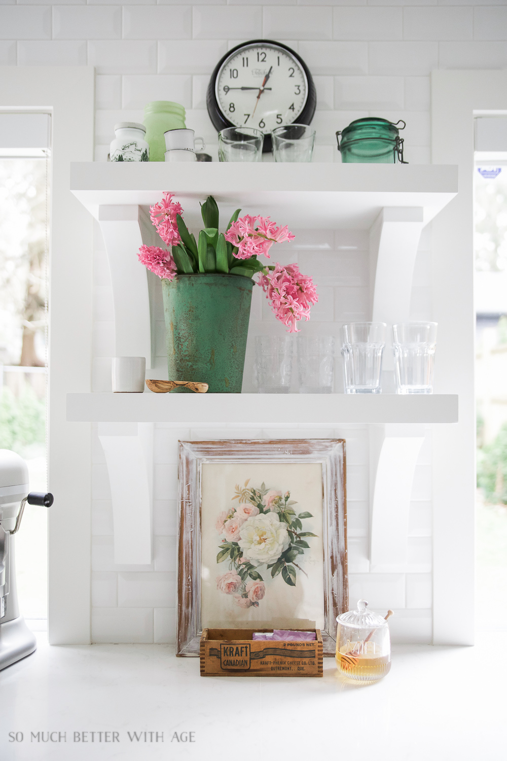 So Much Better With Age - Spring Kitchen Tour