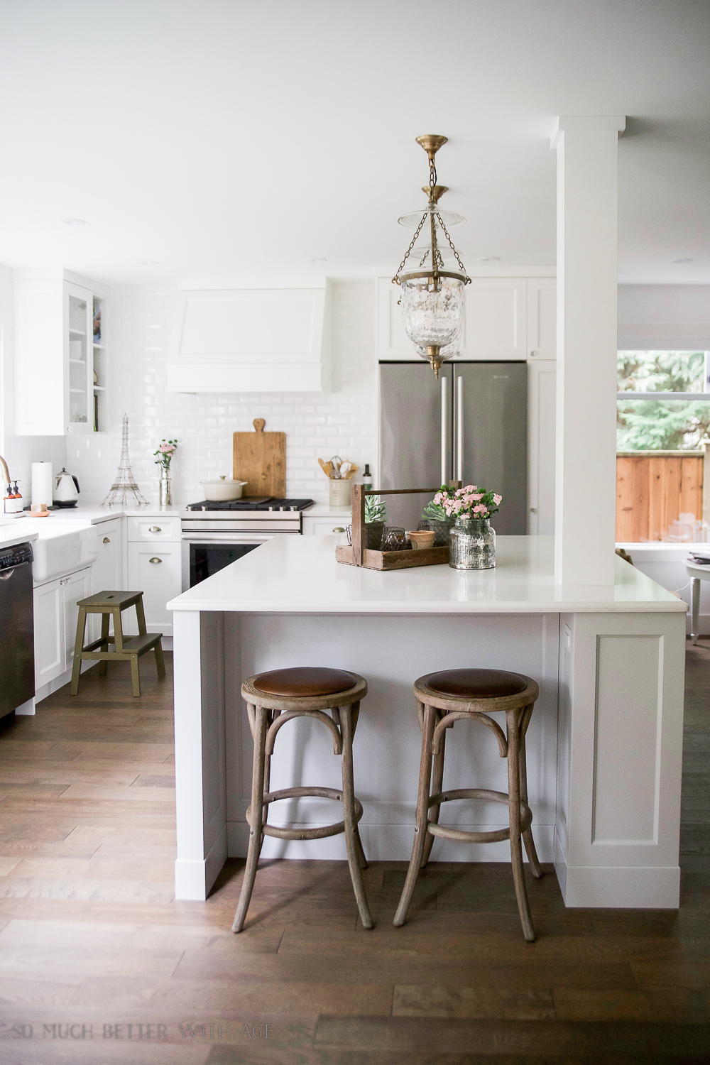 So Much Better With Age - kitchen renovation