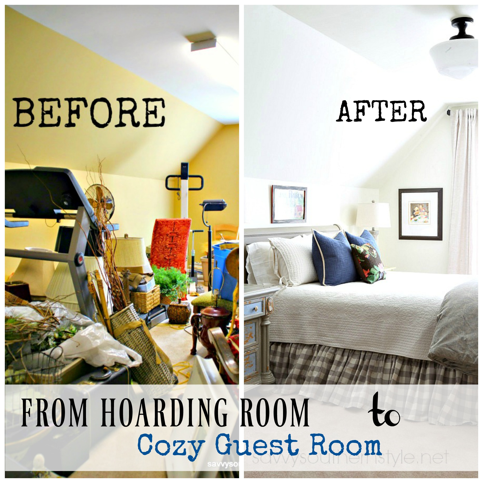 Savvy Southern Style - Bonus Room Makeover