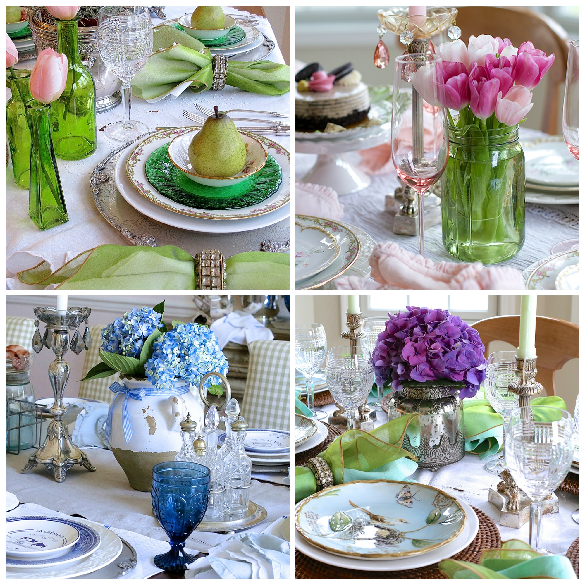 Desigthusiasm - Spring Tablescape Ideas