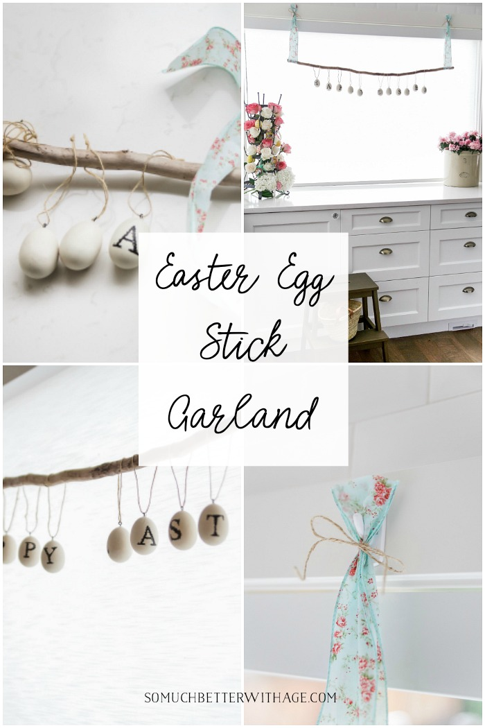 Easter Egg Stick Garland - So Much Better With Age