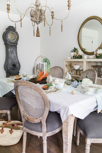 How to Set a Peter Rabbit Inspired Easter table