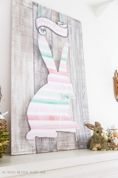 Happy Easter Sign & Bunny- 2 Printables!