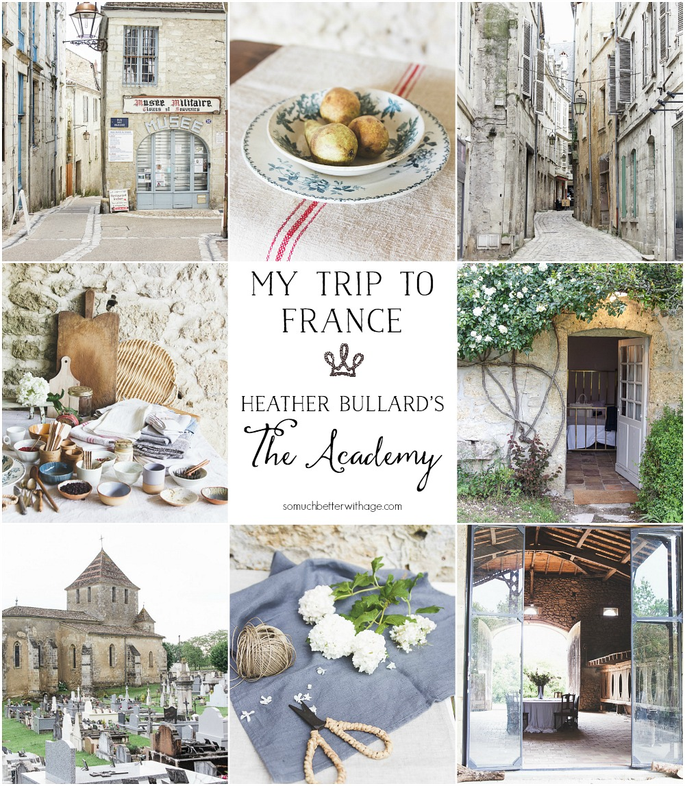 My Trip to France, Heather Bullard's The Academy