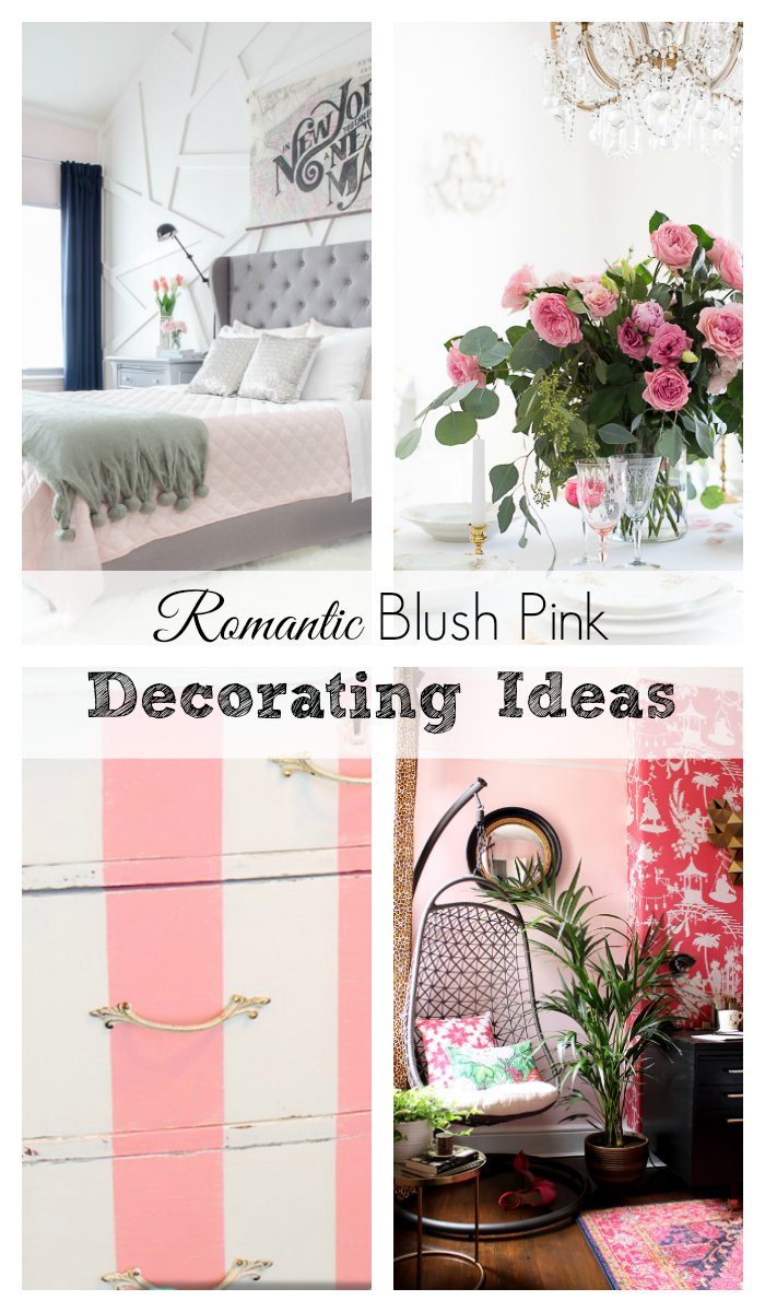 Shabbyfufu - Romantic Blush Pink Decorating Ideas