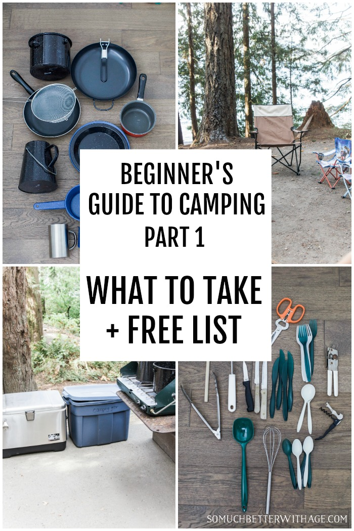 Free list of what to bring camping.