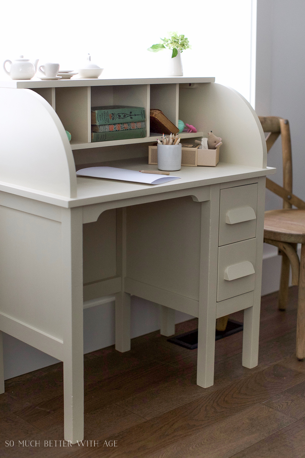 bright coloured furniture. How To Paint Over Bright Or Dark Coloured Furniture, Kids\u0027 Vintage Desk Makeover- Furniture G