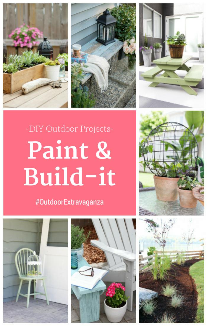 Paint & Build It poster.