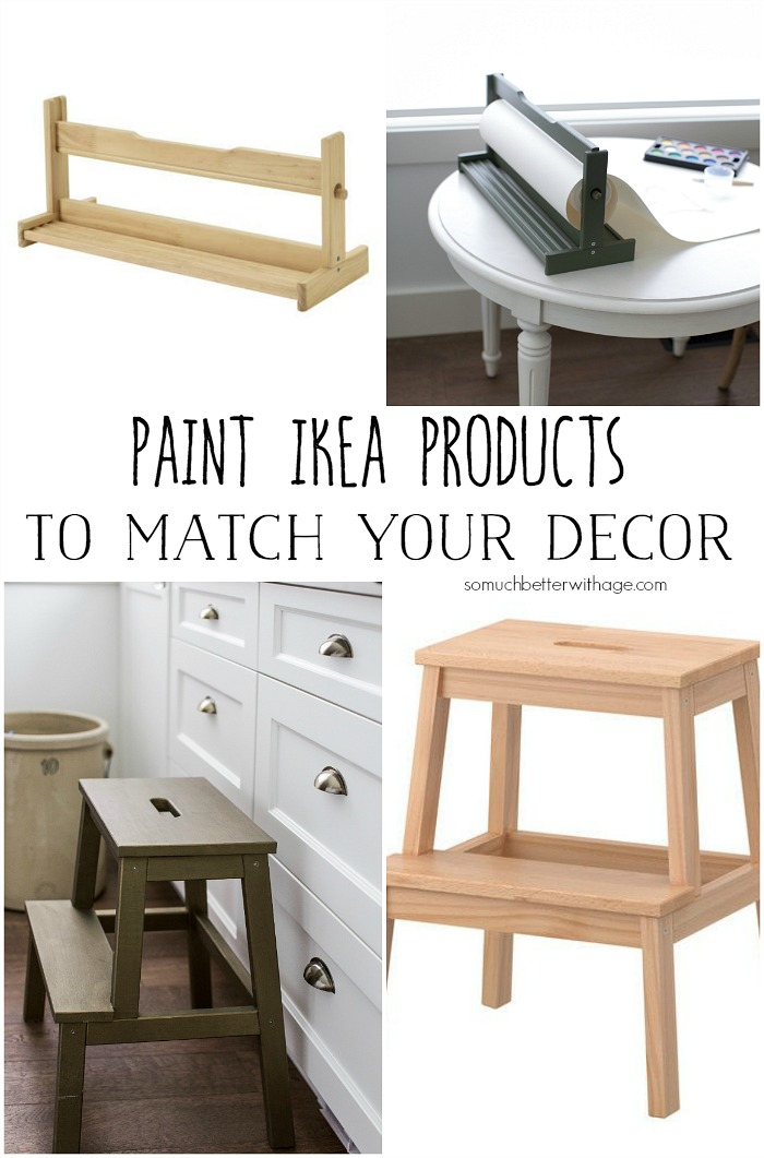 Paint Ikea Products to Match Your Decor