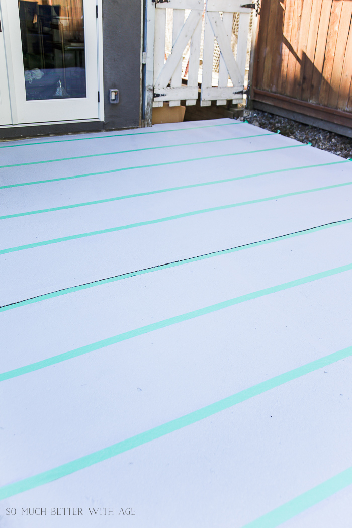 Decide Which Stripe Color To Paint First And Lay Down Painteru0027s Tape.