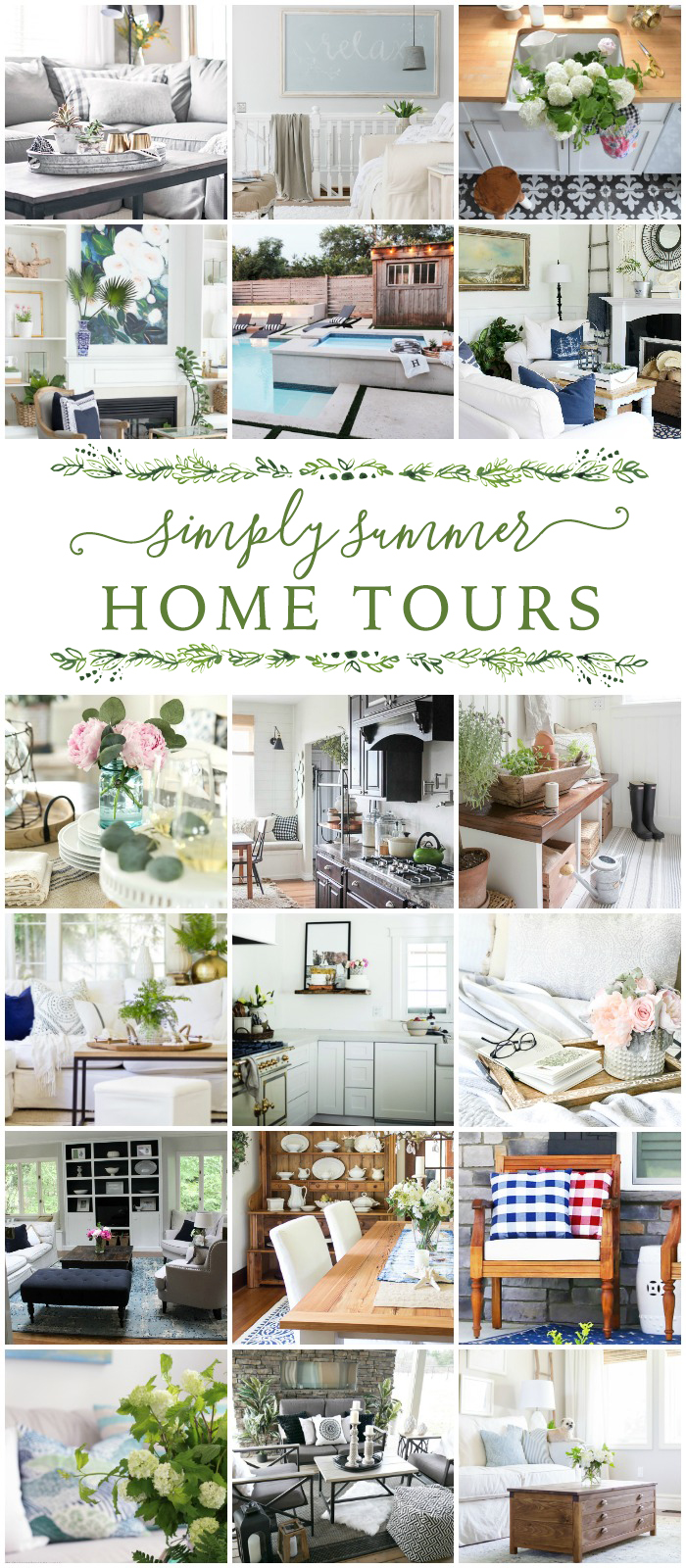 Simply Summer Home Tours