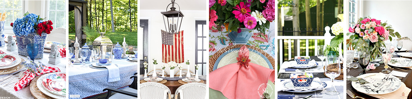Wednesday -Styled + Set Summer Entertaining Blog Tour