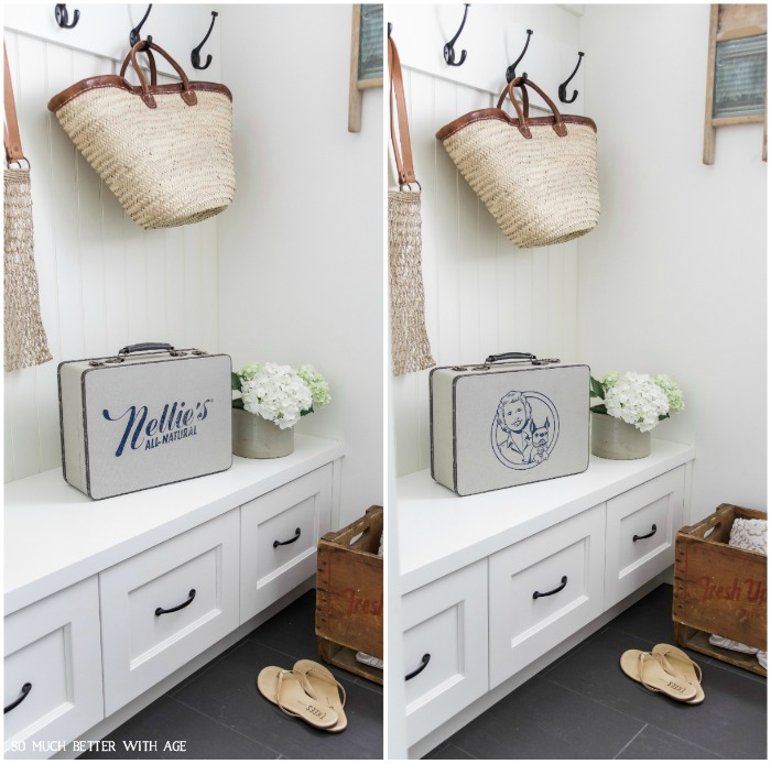 The Best Vintage Laundry Room Decor + Giveaway from Nellie's All-Natural - So Much Better With Age