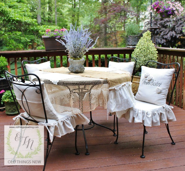 Old Things New - 5 Outdoor Spaces with a French Vintage Vibe