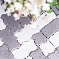 DIY Painted Brick Pavers