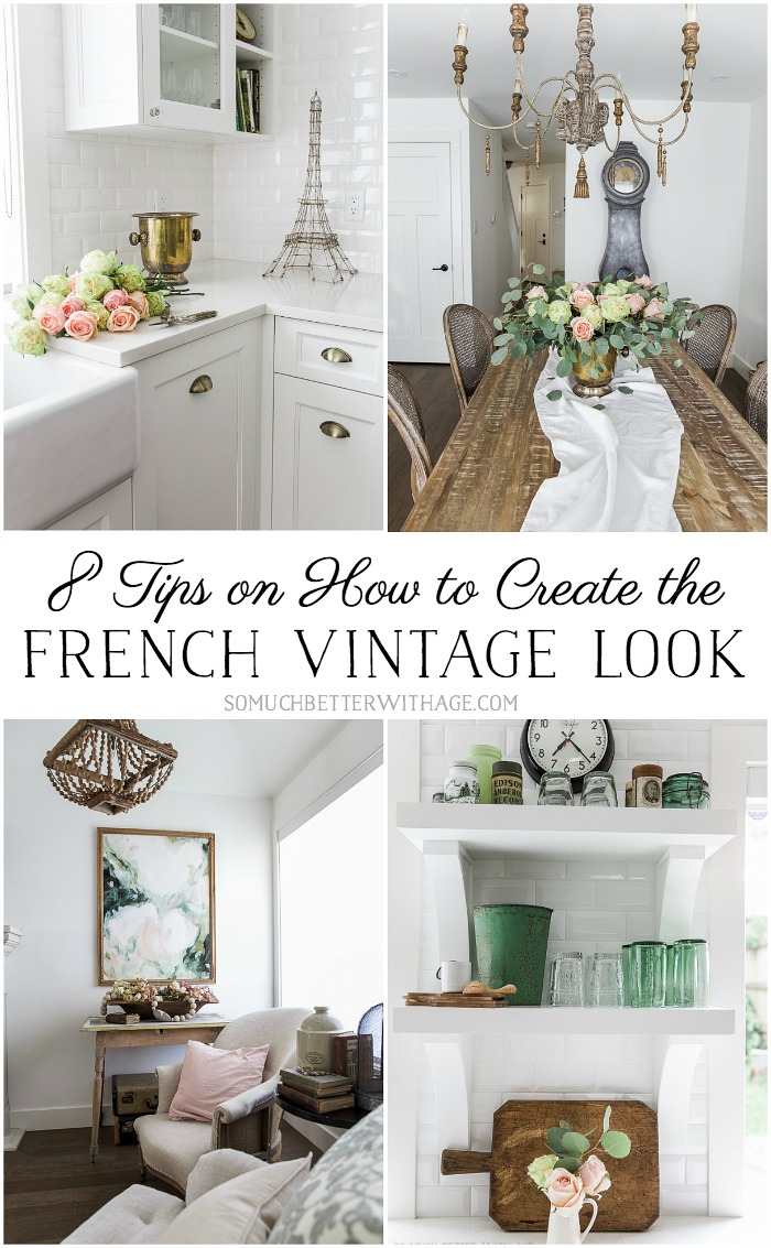 8 Tips on How to Create the French Vintage Look - So Much Better With Age