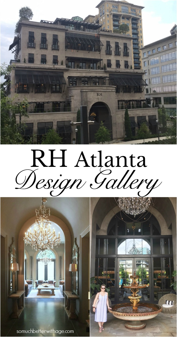 Restoration Hardware Atlanta Design Gallery - So Much Better With Age