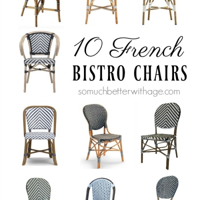 10 French Bistro Chairs