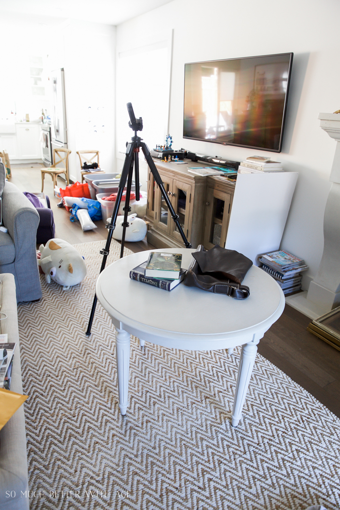 A bloggers' real house house tour/ taking photos of projects - So Much Better With Age