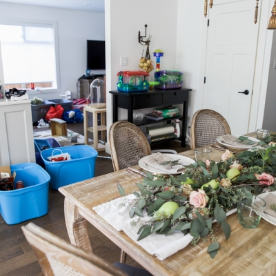 A Blogger's Real Life House Tour + Giveaway
