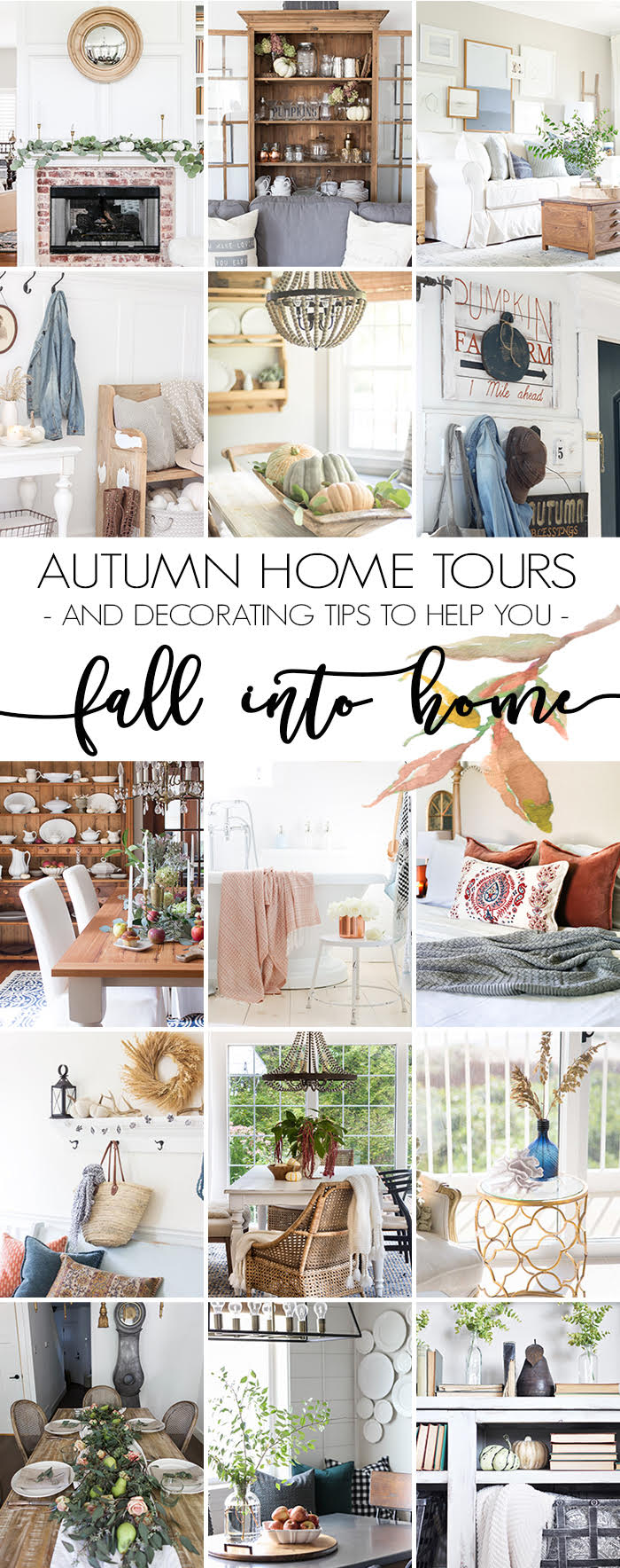 Fall Into Home Tours