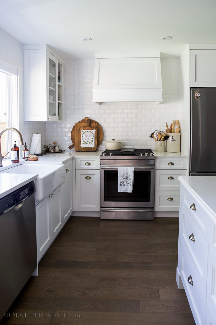 Fresh and French Fall Kitchen Tour - So Much Better With Age