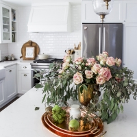 Fresh and French Fall Kitchen Tour + Giveaway