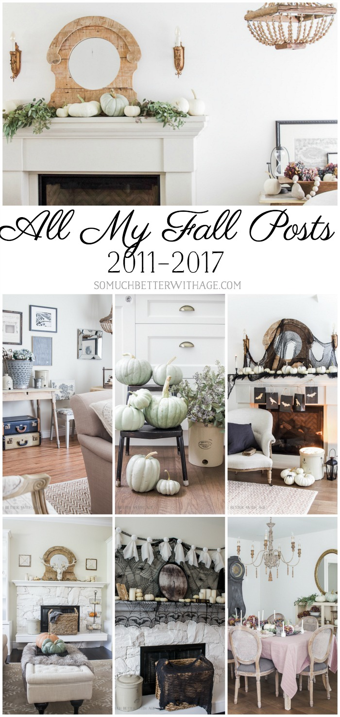 All My Fall Posts for last 6 years - So Much Better With Age poster.