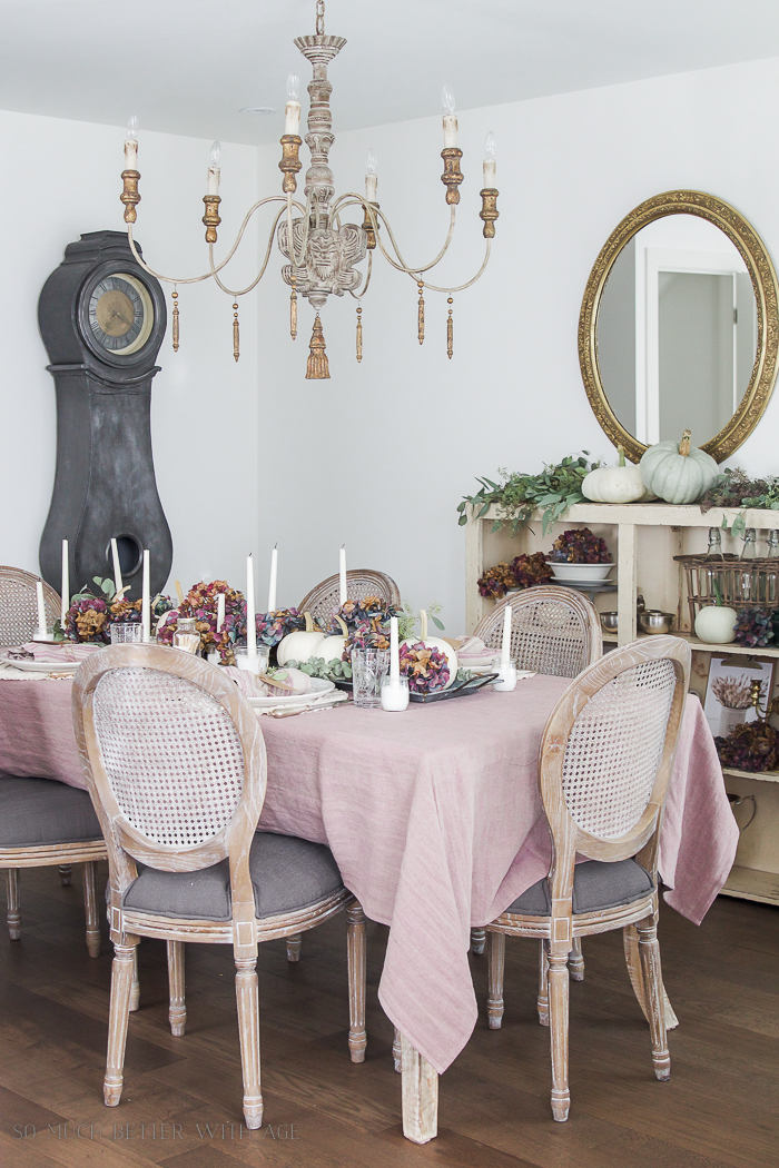 All My Fall Posts 2011-2017/ French Country dining room - So Much Better With Age