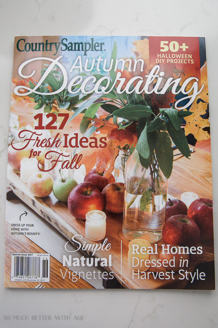 Country Sampler - Autumn Decorating magazine.