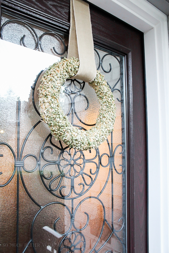 All My Fall Posts 2011-2017/ split pea wreath - So Much Better With Age