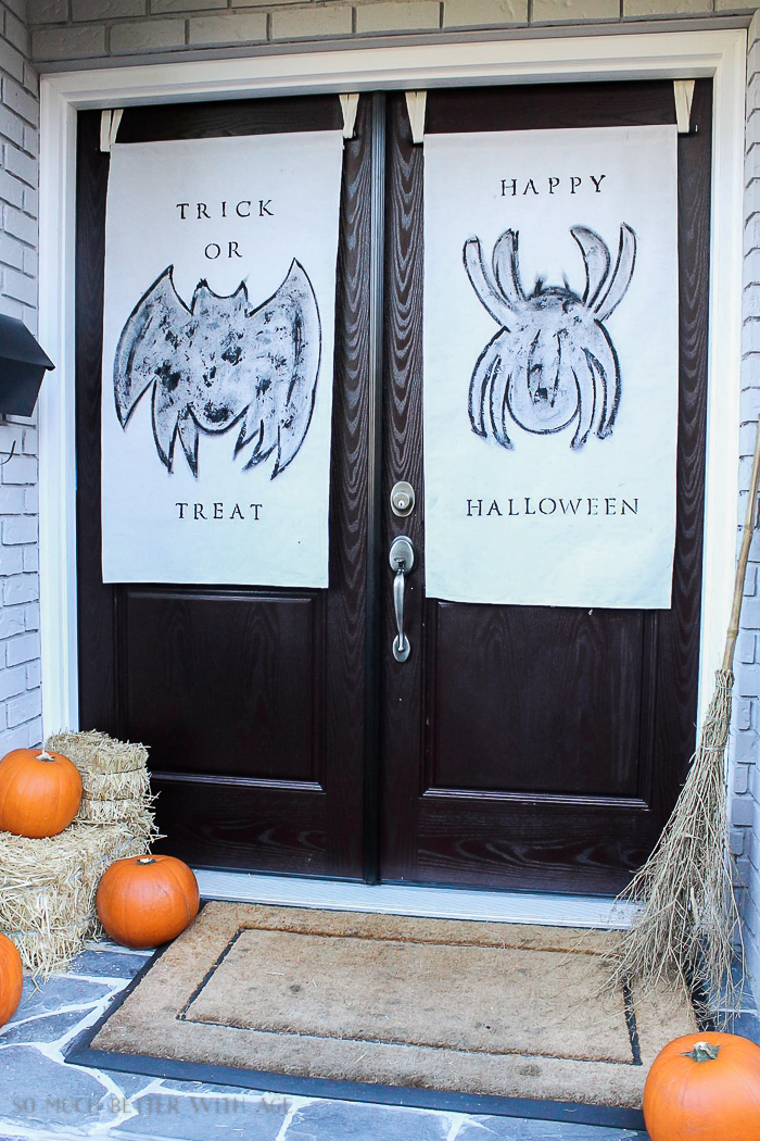 All My Fall Posts 2011-2017/ Halloween door banners - So Much Better With Age