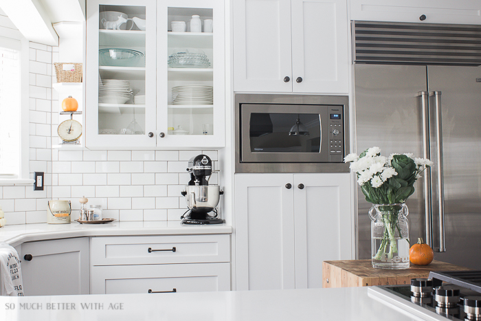 All My Fall Posts 2011-2017/ white vintage kitchen - So Much Better With Age