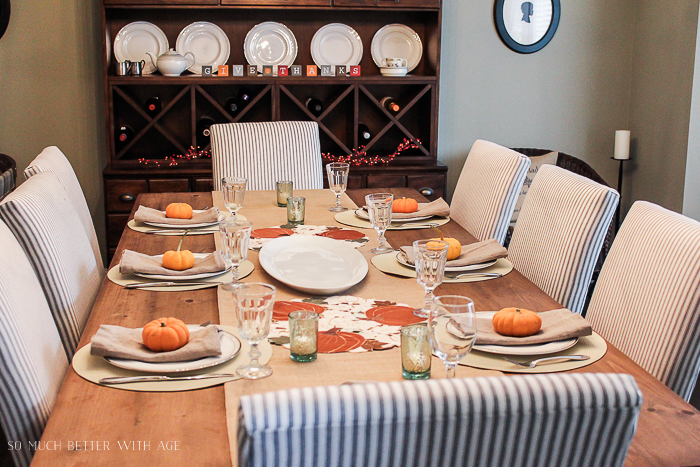 All My Fall Posts 2011-2017/ Thanksgiving table- So Much Better With Age