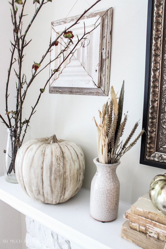 All My Fall Posts 2011-2017/ chalk paint pumpkins - So Much Better With Age