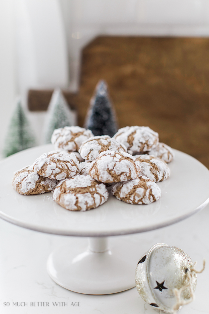 Chocolate Crinkle Cookies/Christmas - So Much Better With Age