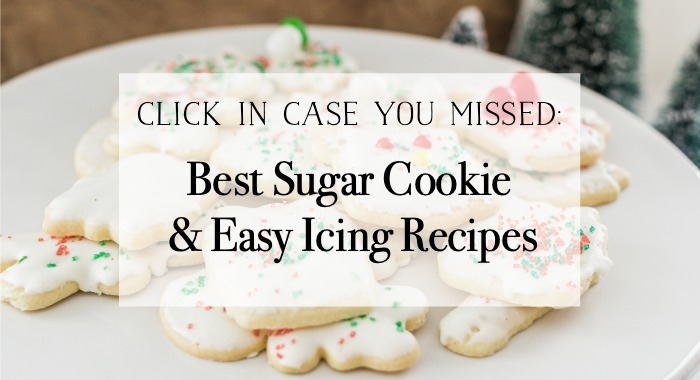 Best Sugar Cookie and Easy Icing recipes poster.