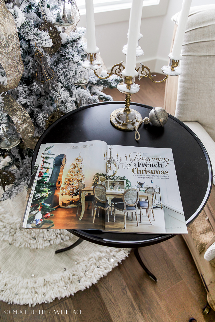 Cottages & Bungalows Christmas Feature/Dreaming of a French Christmas -So Much Better With Age
