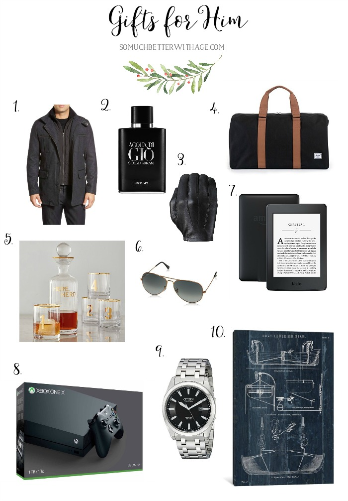 Gifts for Him - So Much Better With Age