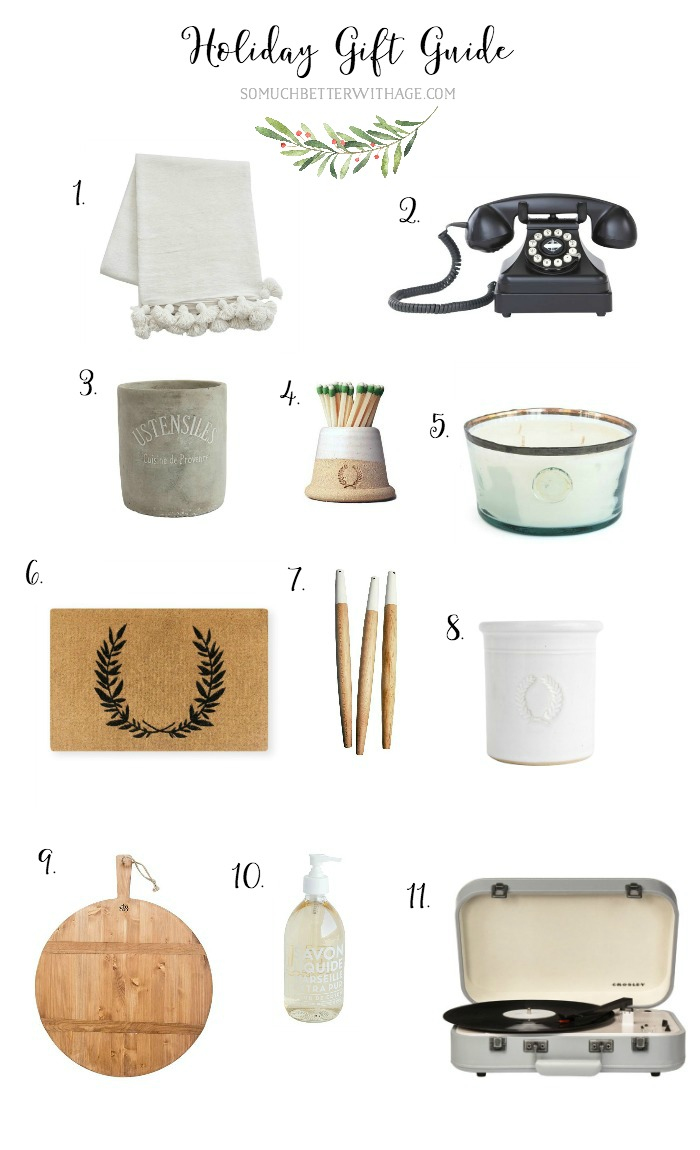 9  Bloggers' Ultimate Holiday Gift Guides/Christmas gifts - So Much Better With Age