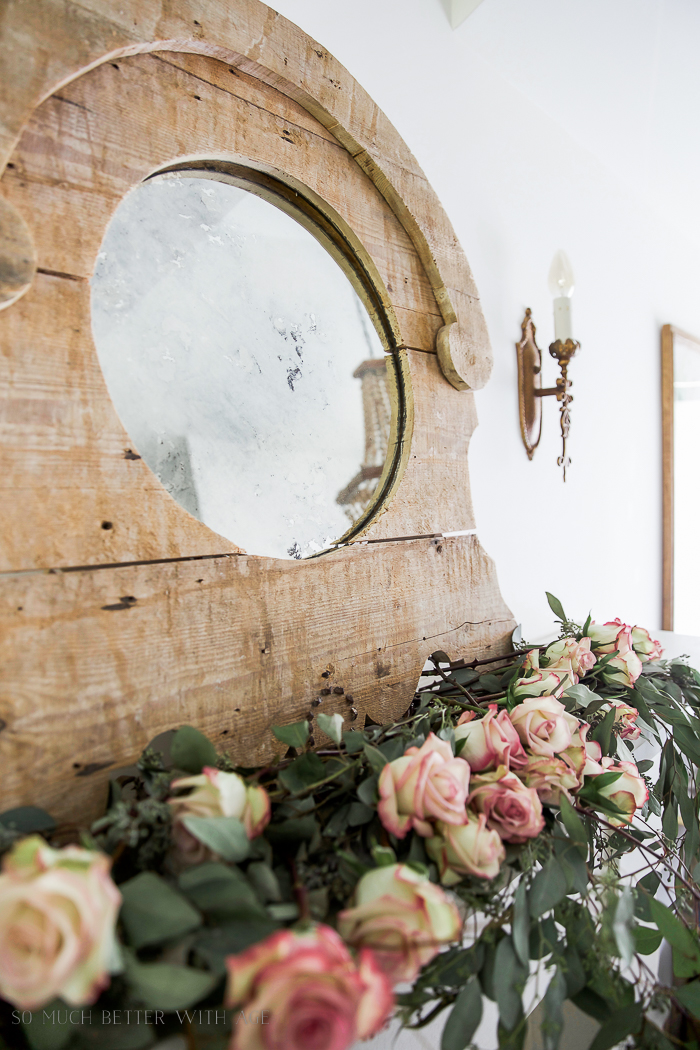 The Ultimate Guide on DIY Antique Mirrors/French Vintage mirror - So Much Better With Age