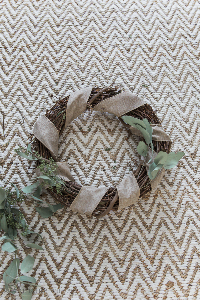 Easy and Beautiful Grapevine Wreath/add sprigs of eucalyptus - So Much Better With Age