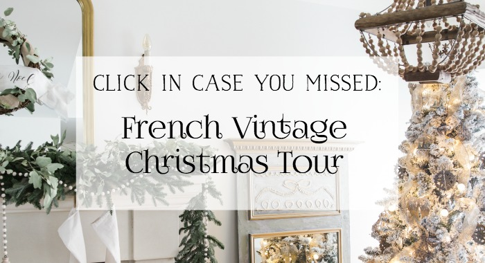 French Vintage Christmas Tour